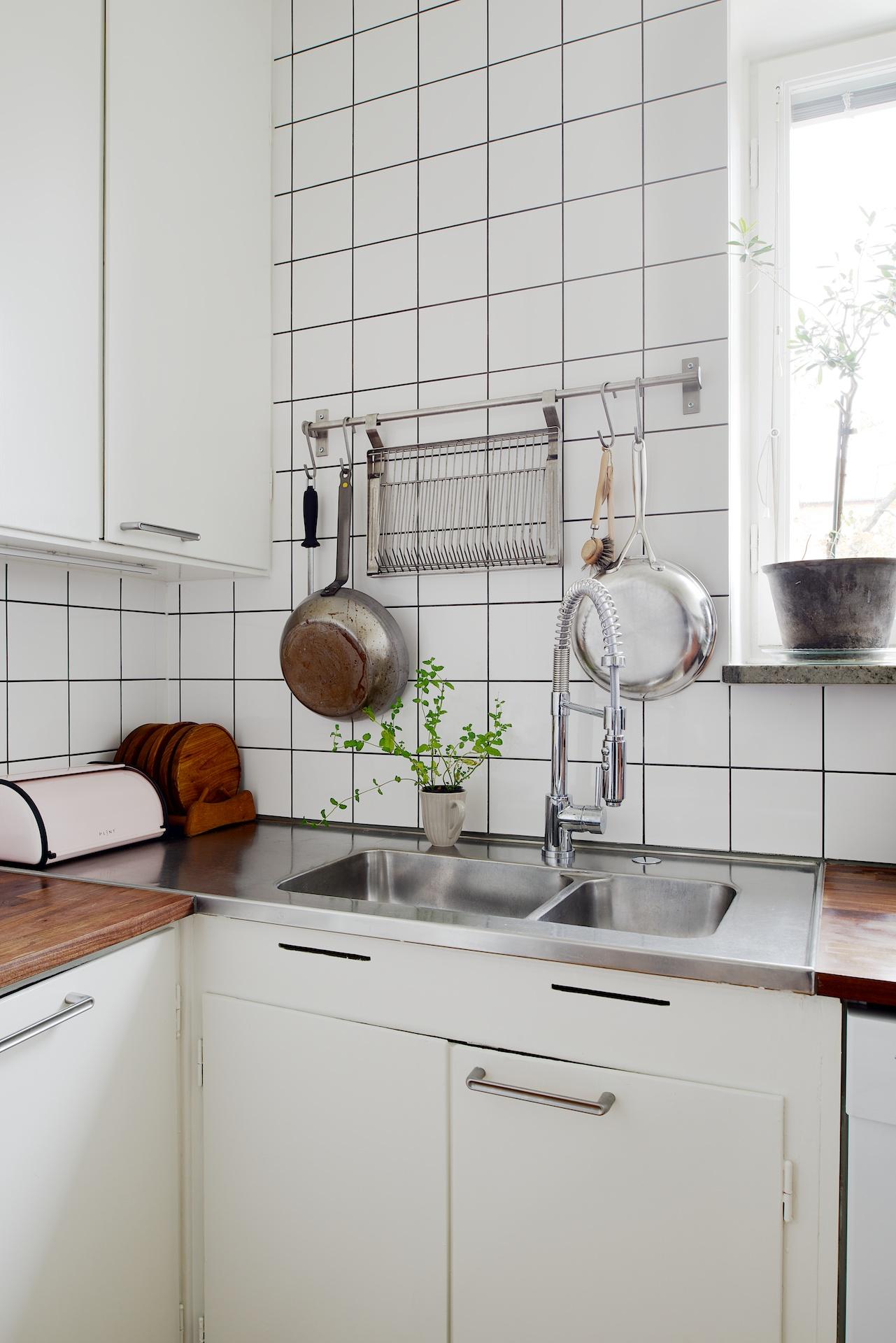 Kök i Solna fick ny stil - Erarum - Design & interiör